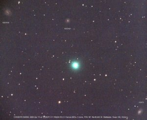 Kometa SWAN C/2020 F8