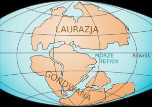 Wędrówka kontynentów