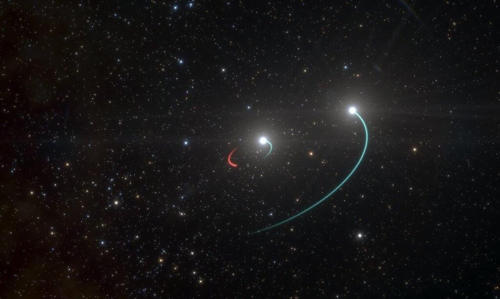 Closest black hole