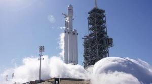 Falcon Heavy - Test statyczny